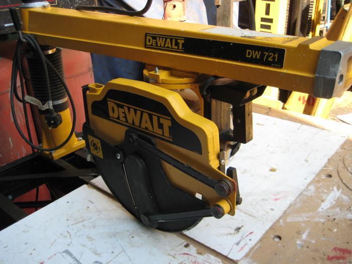 Others Wood Working Machinery Dewalt Cross Cut Saw